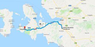 İzmir Havalimanı'ndan Çeşme'ye Ulaşım Nasıl Gidilir
