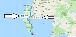 Cape Town'dan Ümit Burnuna Ulaşım, Nasıl Gidilir