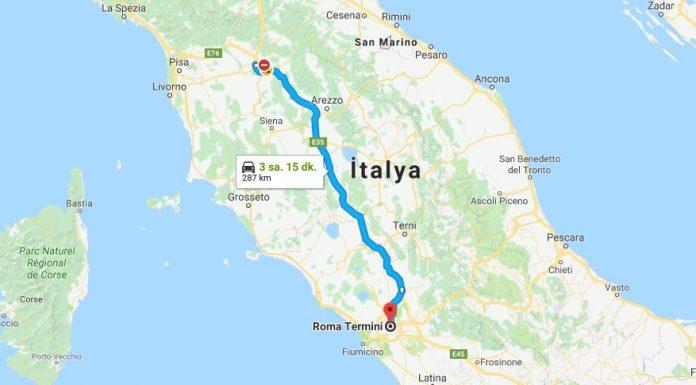 Floransa'dan Roma'ya Nasıl Gidilir