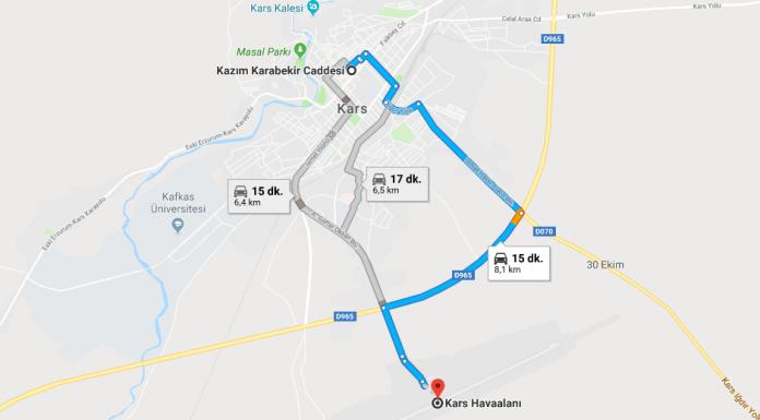 Kars Harakani Havalimanı Şehir Merkezi Ulaşım Nasıl Gidilir