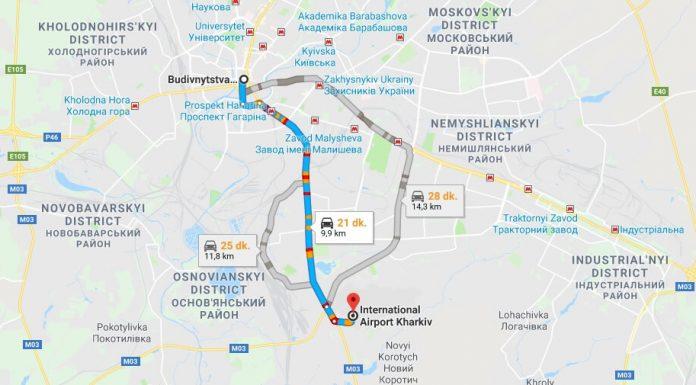 Kharkiv Havaalanı Şehir Merkezi Ulaşım Nasıl Gidilir