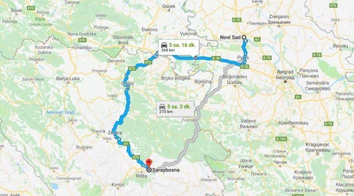 Novi Sad'dan Saraybosna'ya Nasıl Gidilir