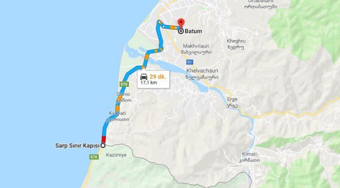 Sarp Sınır Kapısından Batum'a Nasıl Gidilir