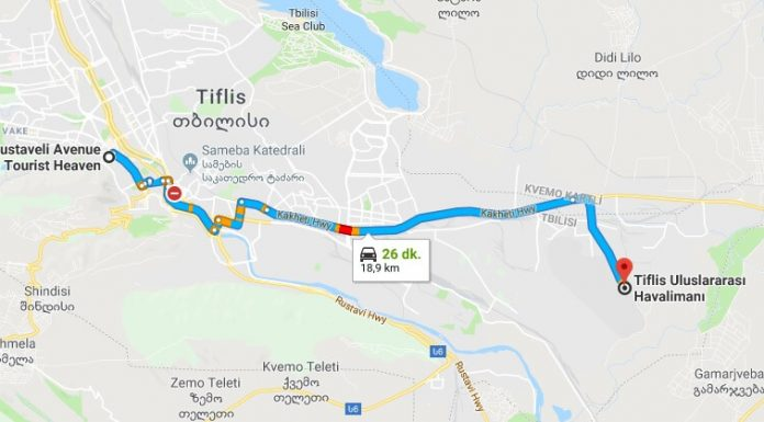 Tiflis Havaalanı Şehir Merkezi Arası Nasıl Gidilir - Ulaşım