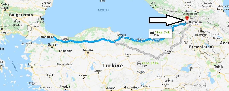 Gürcistan'a Nasıl Gidilir