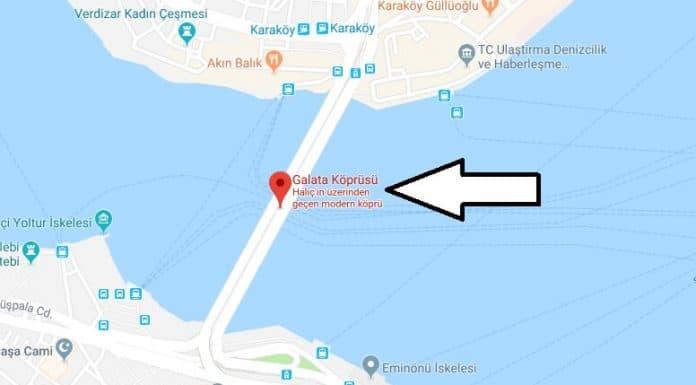 Galata Köprüsü Nerede, Nasıl Gidilir?