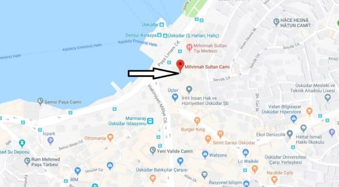 Mihrimah Sultan Camii Nerede, Nasıl Gidilir?