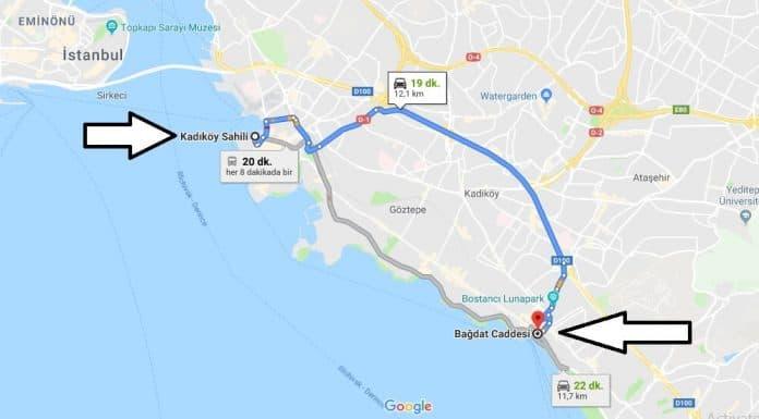 Bağdat Caddesi Nerede Nasıl Gidilir