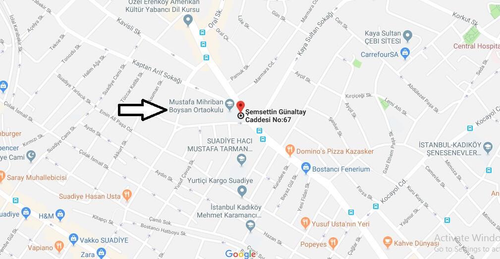 Mustafa Mihriban Boysan Ortaokulu Nerede, Nasıl Gidilir?