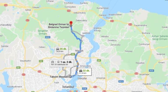 Belgrad Ormanı Nasıl Gidilir