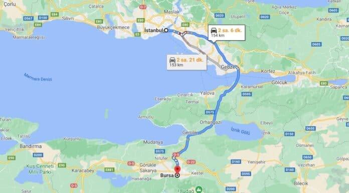 İstanbul'dan Bursa'ya Nasıl Gidilir